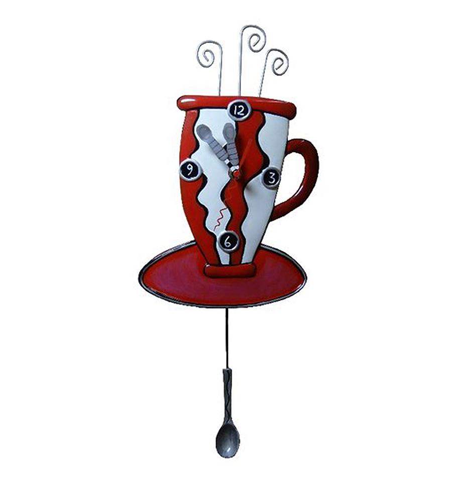 Allen Designs red cup clock buy gifts at BerlinDeluxe ...