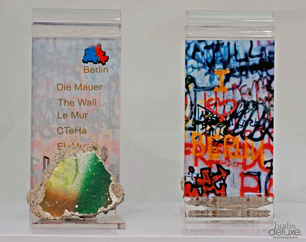 Authentic Piece of the Berlin Wall - Deluxe Souvenirs online Shop