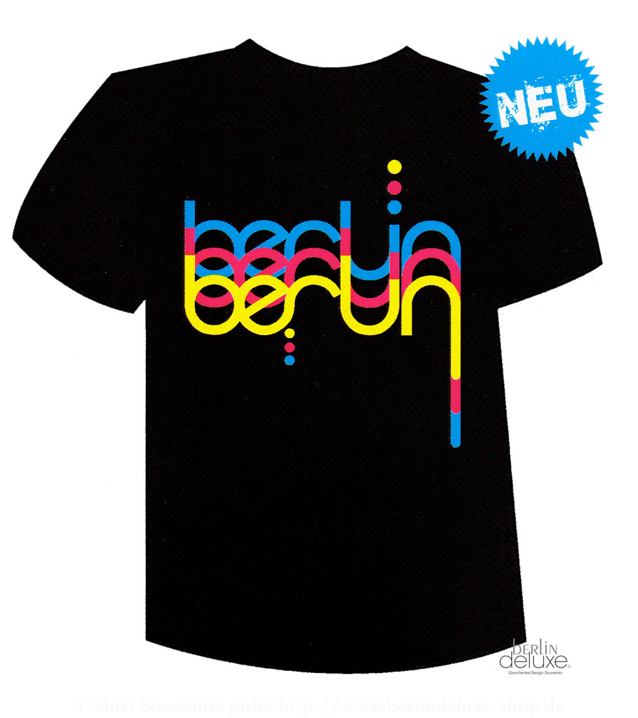 t shirt welle berlin neon shirts im deluxe online shop. Black Bedroom Furniture Sets. Home Design Ideas