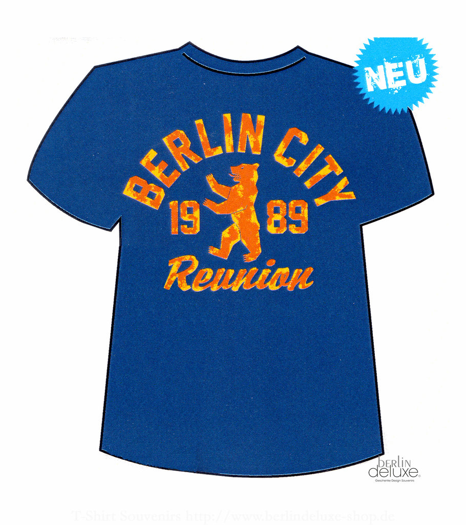 t shirt reunion berlin gifts design souvenirs online. Black Bedroom Furniture Sets. Home Design Ideas