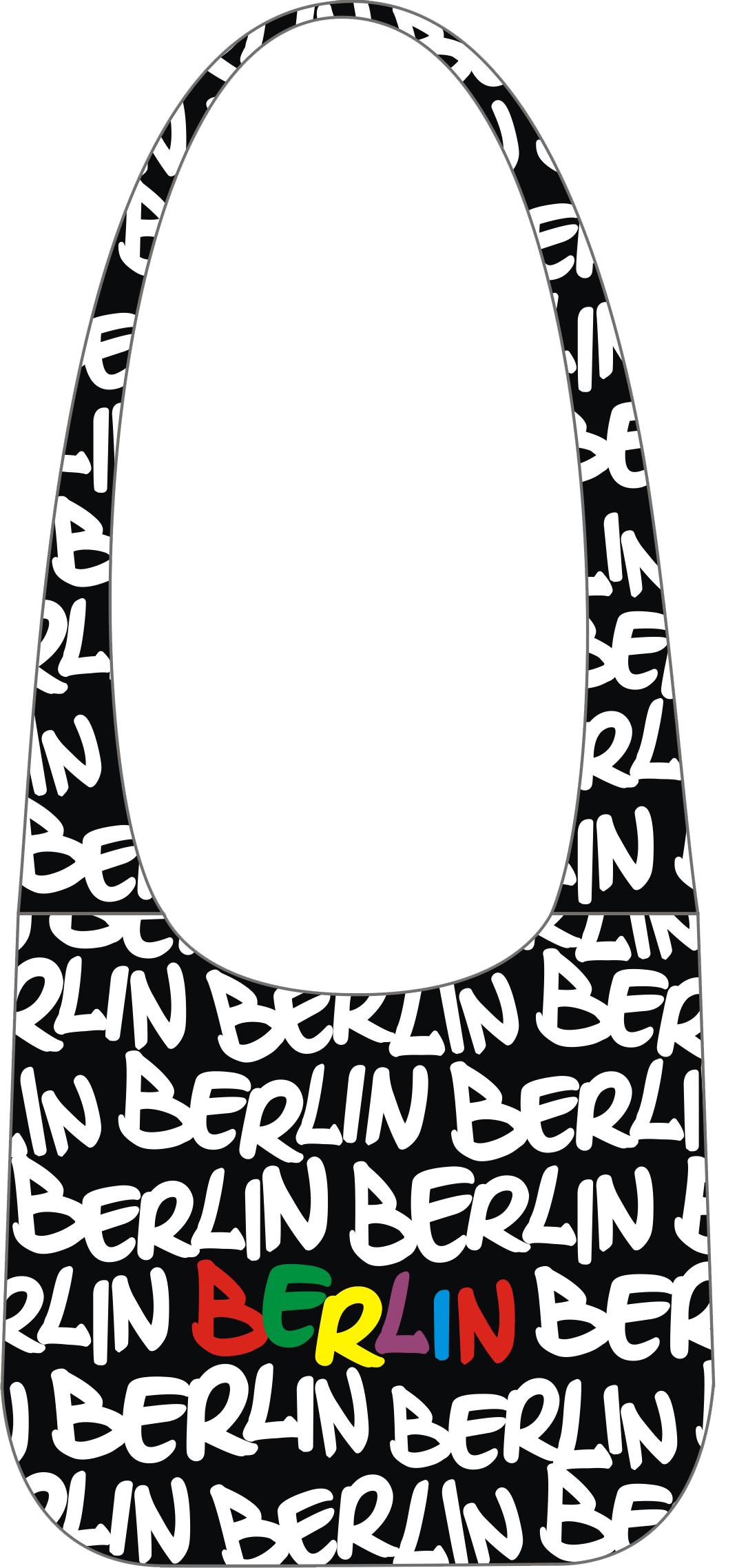 rr tasche berlin sw wei bunt bei bw online shop kaufen. Black Bedroom Furniture Sets. Home Design Ideas
