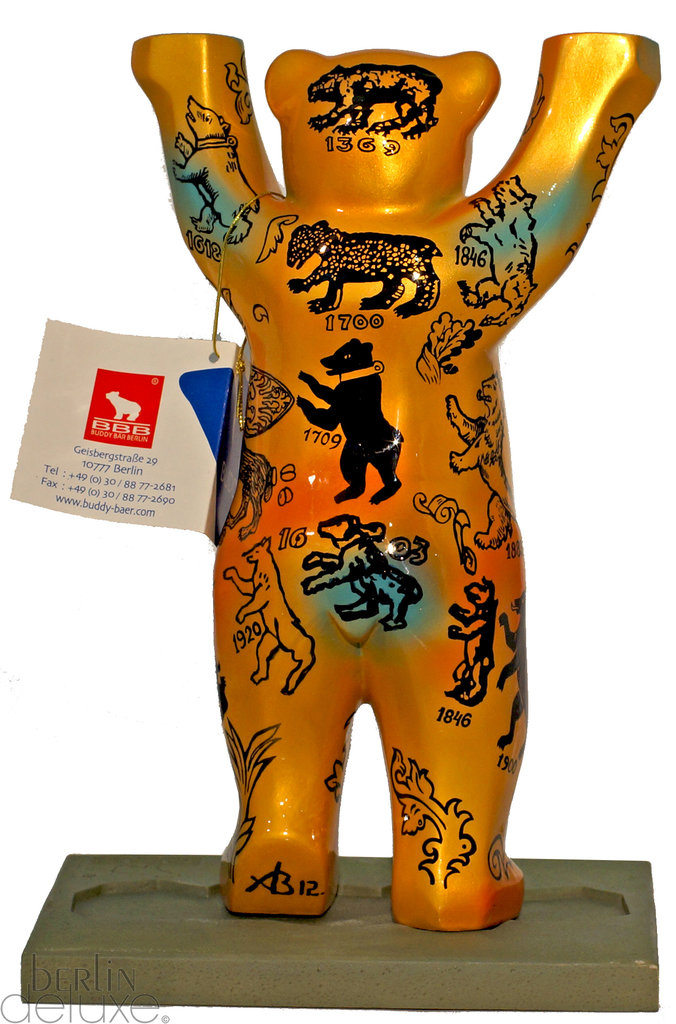 berlin wappentier buddy bear berliner b r souvenir im onlineshop. Black Bedroom Furniture Sets. Home Design Ideas