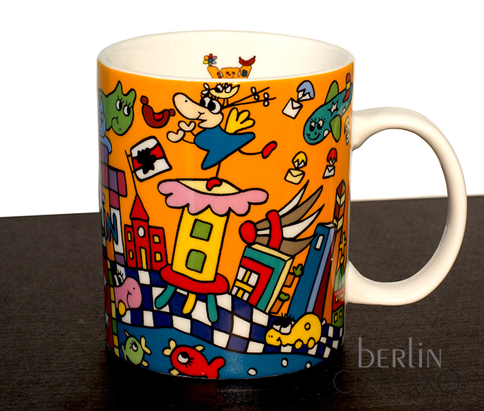berlin colours xl coffee mug buddy bear buy souvenir mugs online. Black Bedroom Furniture Sets. Home Design Ideas