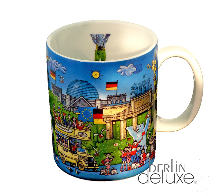 berlin comic xl coffee mug buddy bear buy souvenir mugs online. Black Bedroom Furniture Sets. Home Design Ideas