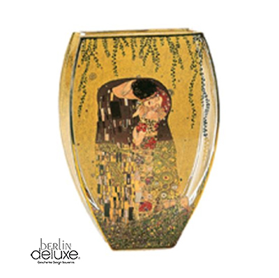 klimt the kiss vase buy artis orbis gifts online. Black Bedroom Furniture Sets. Home Design Ideas