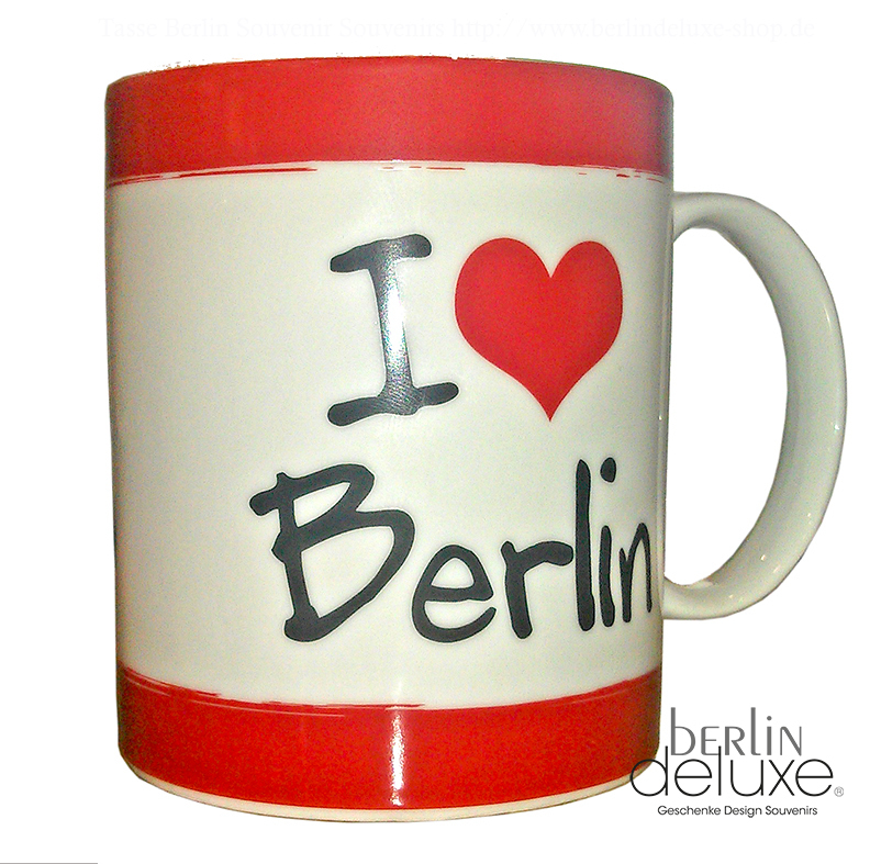i love berlin bear mug german gifts souvenirs online shop. Black Bedroom Furniture Sets. Home Design Ideas