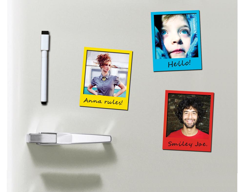 doiy polaframes neu ovp 6 magnetische design bilder rahmen m stift wie polaroid ebay. Black Bedroom Furniture Sets. Home Design Ideas