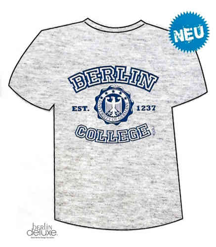 "T-Shirt ""Berlin College"""