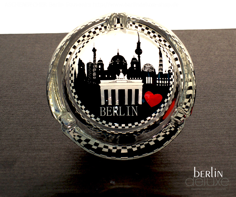 aschenbecher berlin skyline geschenke design souvenirs online. Black Bedroom Furniture Sets. Home Design Ideas