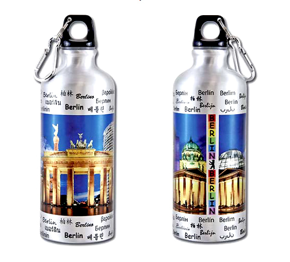 trinkflasche berlin brandenburger tor berlin souvenirs online. Black Bedroom Furniture Sets. Home Design Ideas