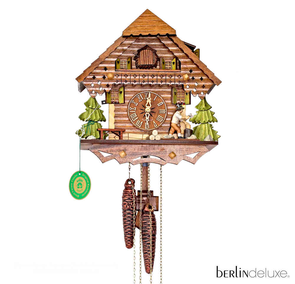 Original HEKAS Black Forest Cuckoo Clock Wood Chipper NEW ...