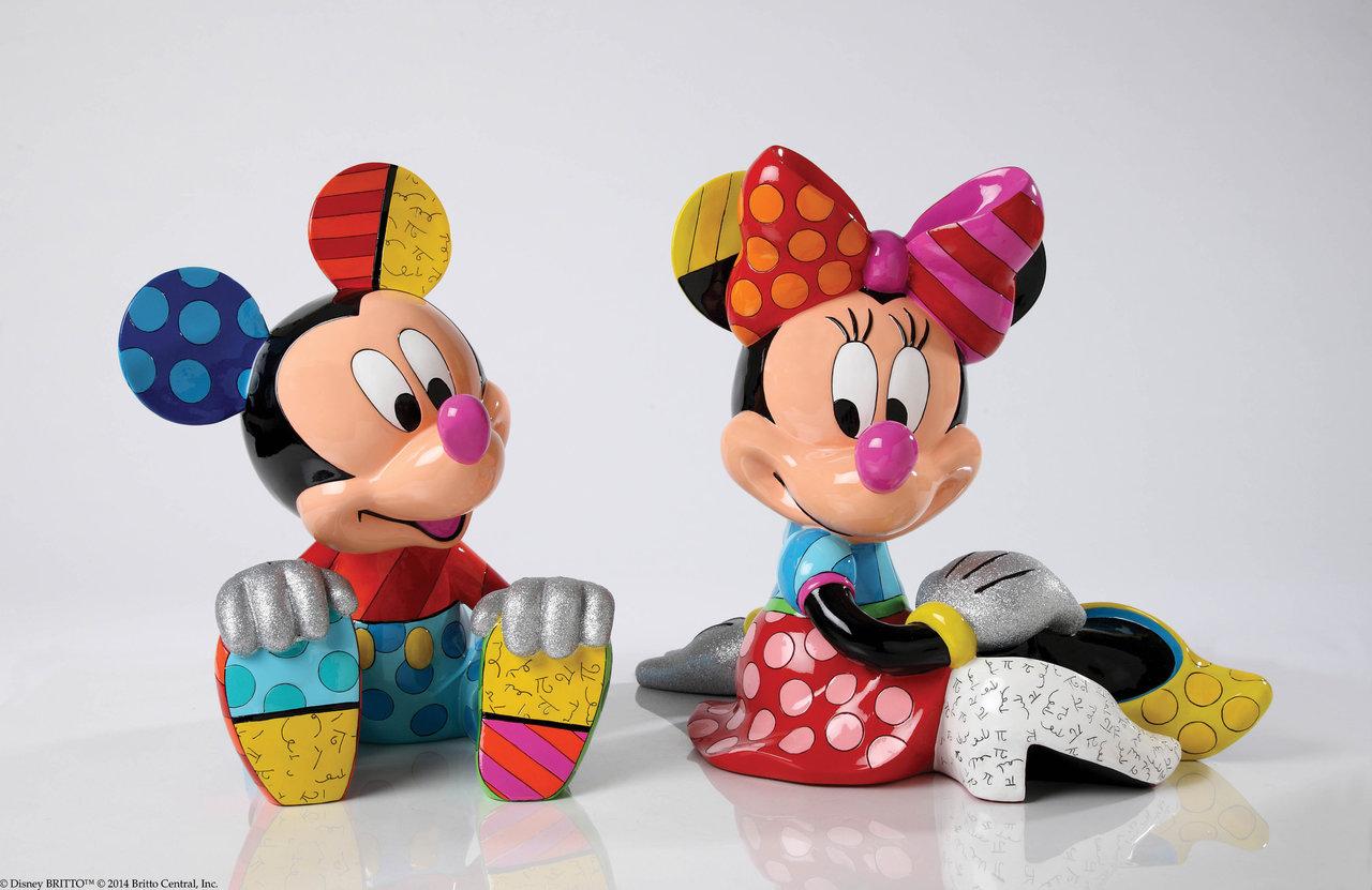 Mickey Minnie Set Limitierte Sonderedition