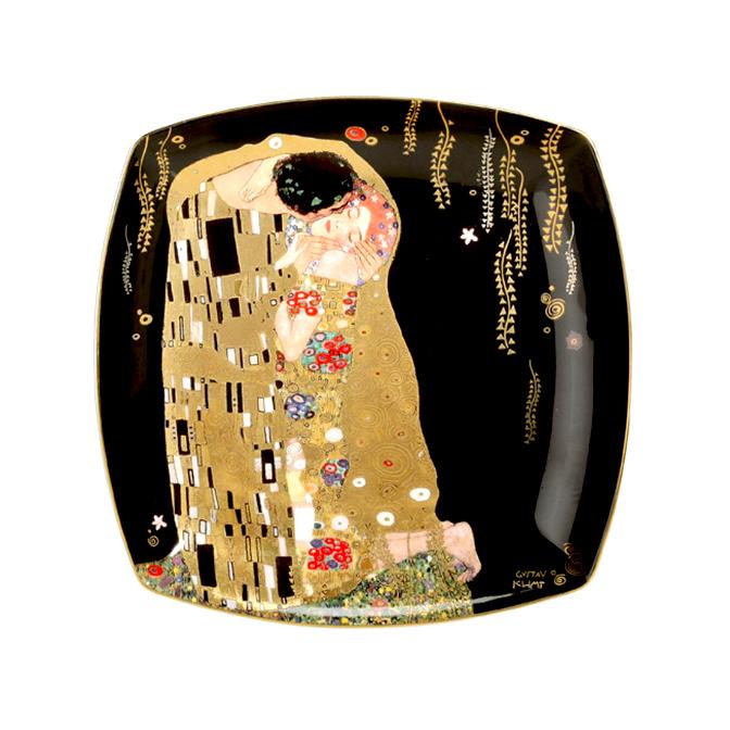 goebel klimt der kuss teller neu ovp artis orbis desserteller m gold dekor ebay. Black Bedroom Furniture Sets. Home Design Ideas