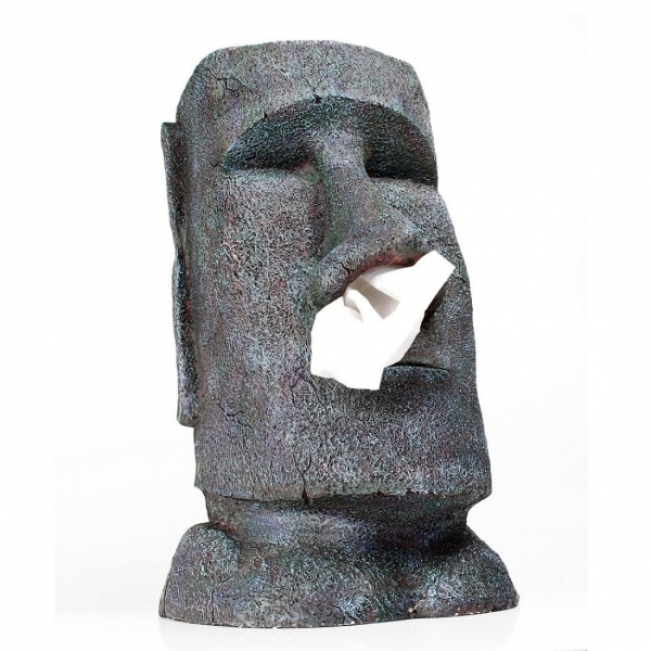 Moai Taschentuchspender   Geschenkidee ...