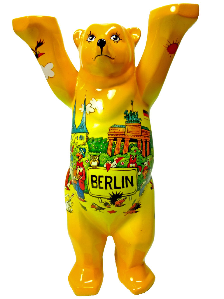 Berlin Comic Vi 6 Buddy Bear Bären Im Berlin Deluxe Shop