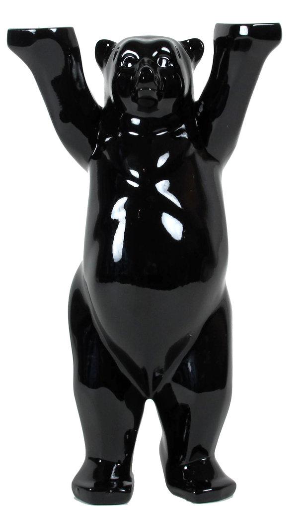 buddy bear berlin black edition neu ovp schwarzer berliner b r 22cm glasplatte ebay. Black Bedroom Furniture Sets. Home Design Ideas