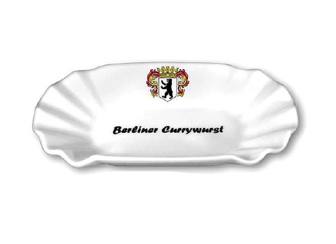 pommes currywurst schale berlin souvenirs bei berlin deluxe. Black Bedroom Furniture Sets. Home Design Ideas