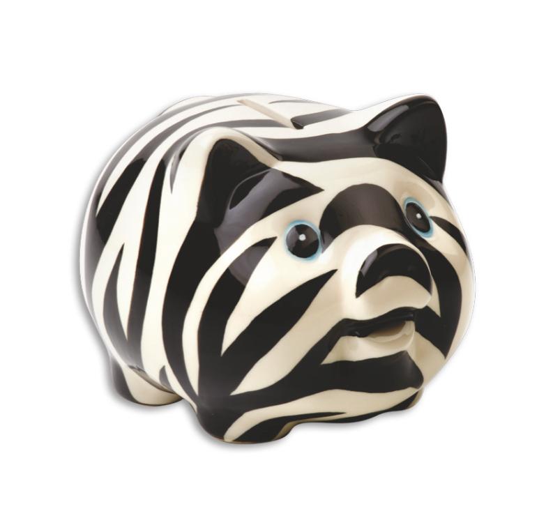 m chtegern sparschwein zebra spardosen im berlin deluxe shop. Black Bedroom Furniture Sets. Home Design Ideas