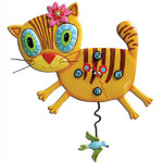 Kimi Kitty Cat Clock - Allen Designs