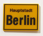 "Magnet ""Haupstadt Berlin"" (""Capital city Berlin)"