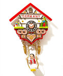 Cuckoo Clock Magnet Germany