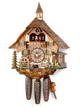 "Cuckoo clock Hekas ""Black Forest House"""