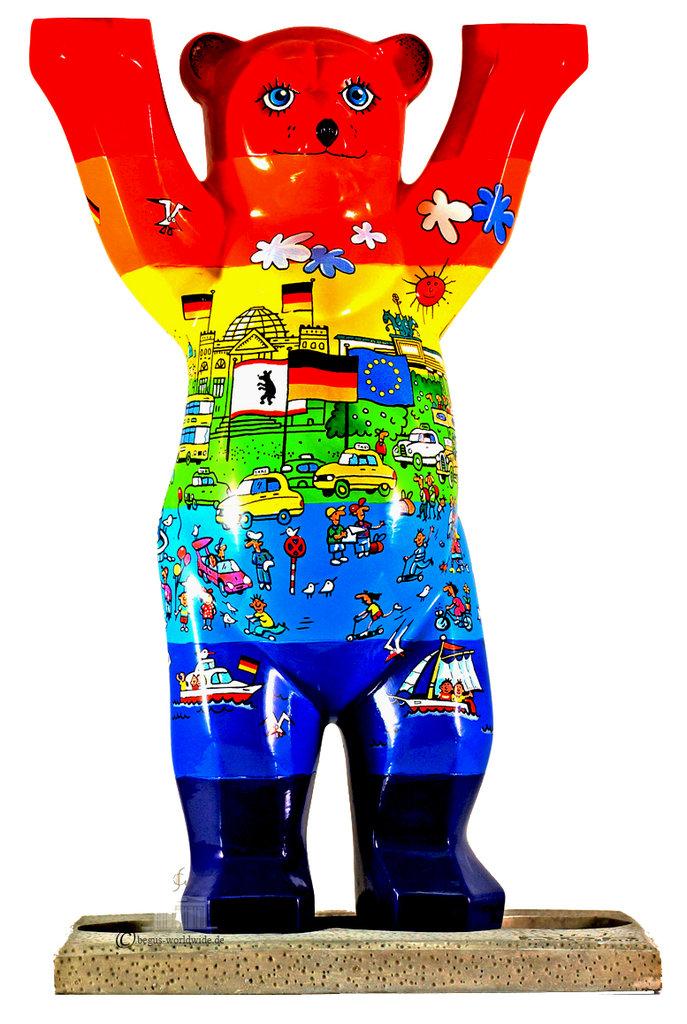 Berlin Rainbow Buddy Bear B Dlx Gifts Amp Souvenirs Onlineshop