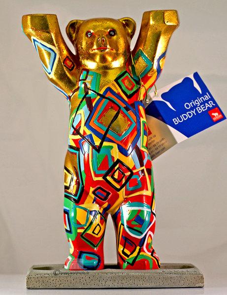 Golden View Buddy Bear Berlin Souvenir Buy Low Shipping