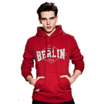 Kapuzenpulli Red