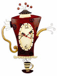 Steamin´ Tea Clock