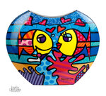Britto Vase deeply in love