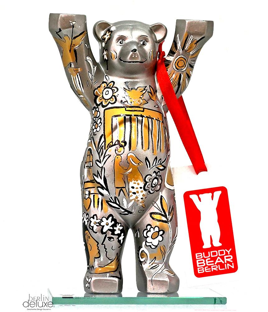 BUDDY BÄR Tor zur Stadt NEU//OVP 6cm Berlin Bear Souvenir Figur Geschenkbox