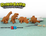 "3D cookie cutter ""Dinosaur"""