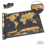 Scratch Map Deluxe - XL Weltkarte