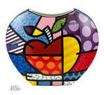 Britto Vase Big Apple Goebel