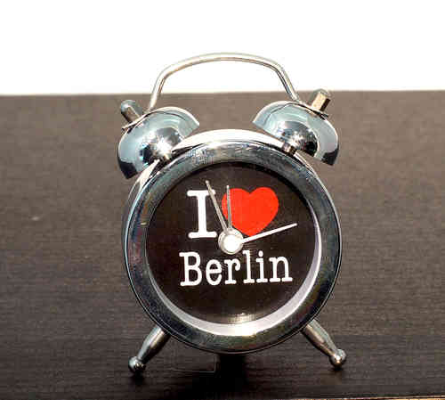 Mini Wecker I love Berlin