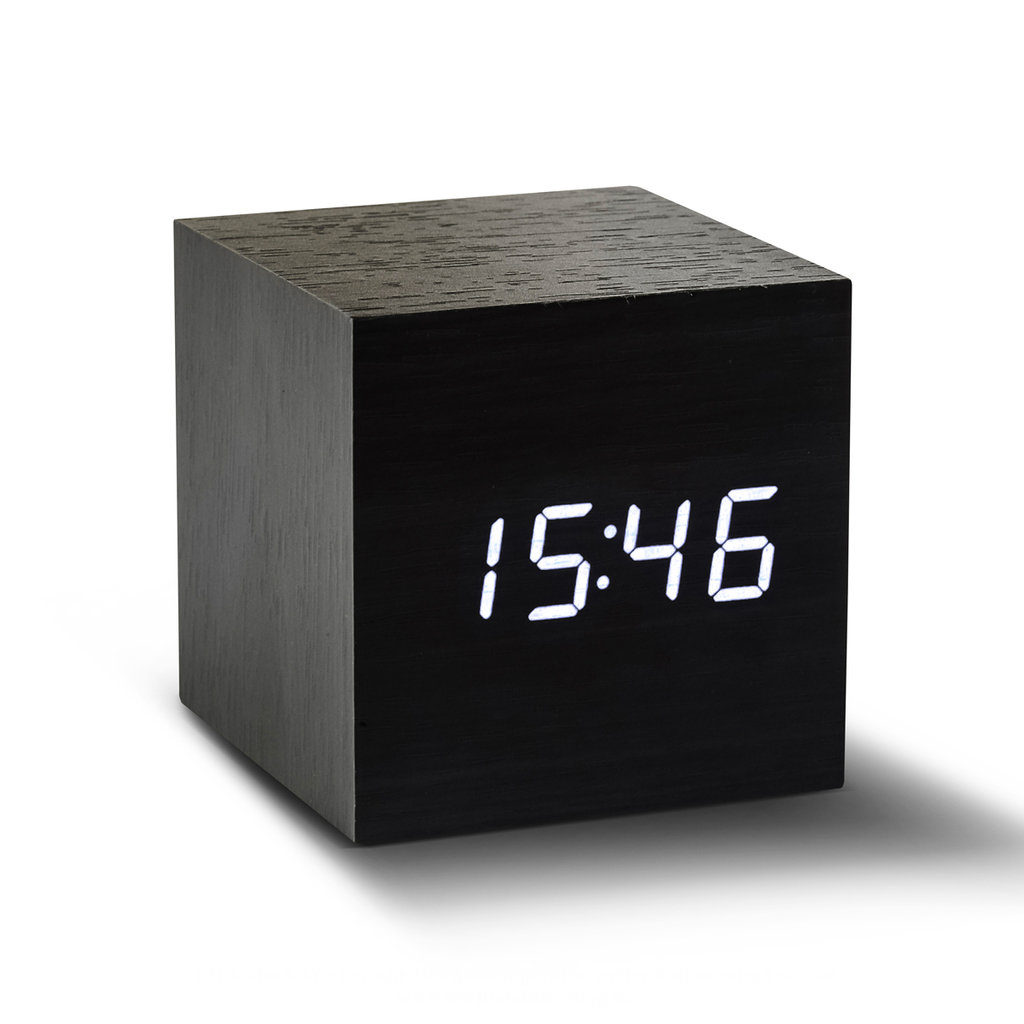 gingko cube sound sensor design wecker uhr berlin deluxe. Black Bedroom Furniture Sets. Home Design Ideas