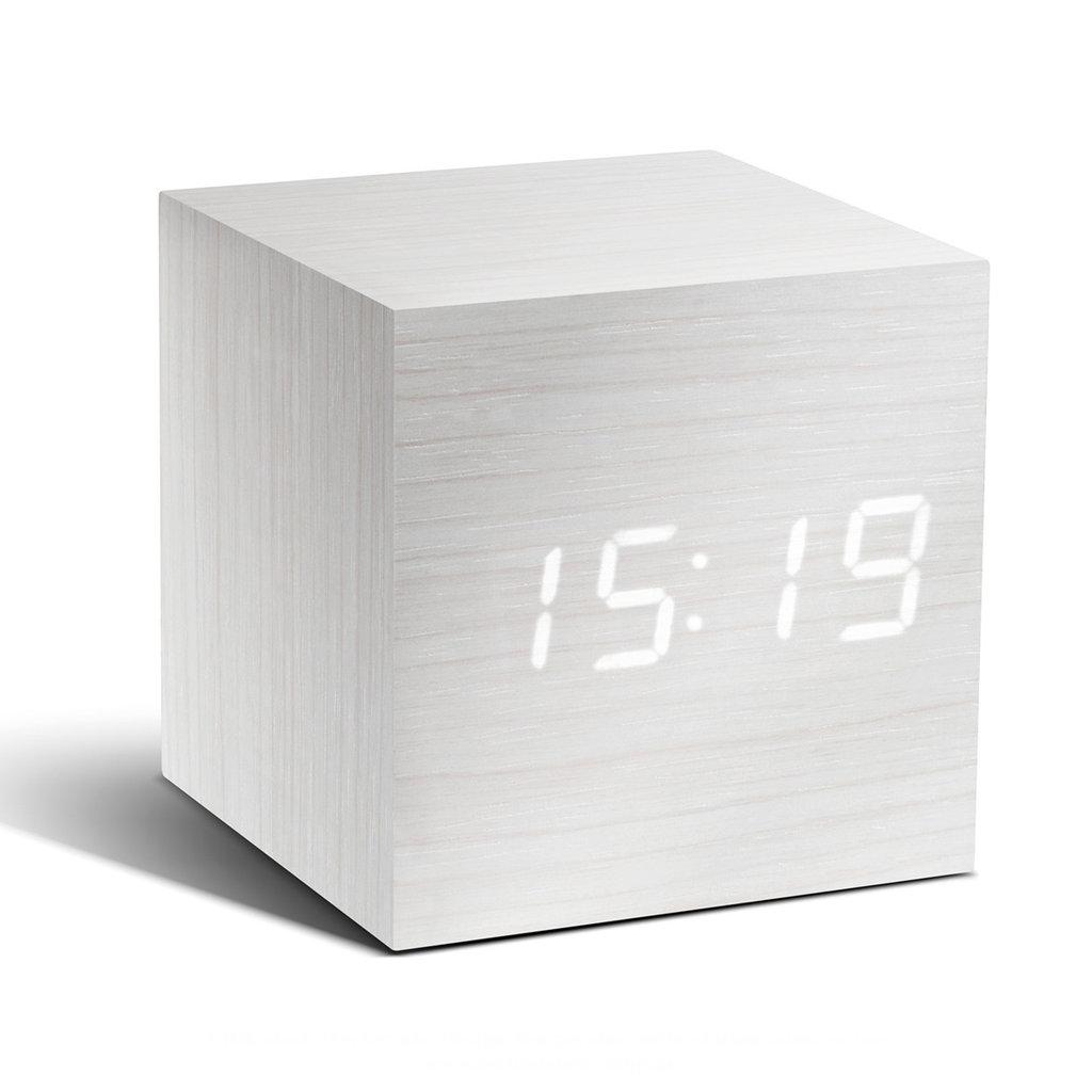 Gingko Cube Sound Sensor Design Wecker Uhr Berlin Deluxe