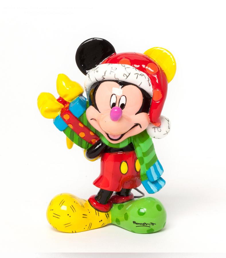 DISNEY by BRITTO Mickey Mouse NEU/OVP Micky Maus m. Geschenk PopArt ...