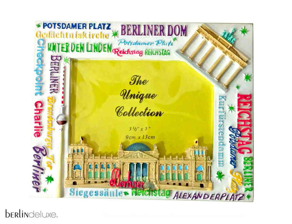 Bilderrahmen Berlin Colors - Foto Rahmen Weiß Berlin Deluxe Shop