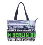 Foto Tasche Skyline City Shopper Grün