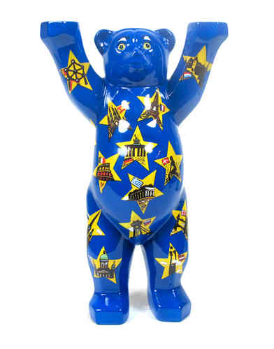 Stars on Blue - Buddy Bear Berlin