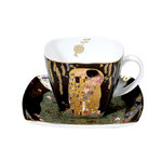 "Klimt ""The Kiss"" Coffee Cup"