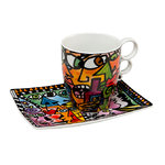 "Rizzi Tasse ""Eye to Eye"" Set"