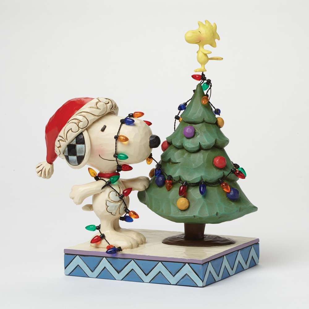 Snoopy´s Weihnachtsbaum - Jim Shore Figuren im Berlin Deluxe Shop