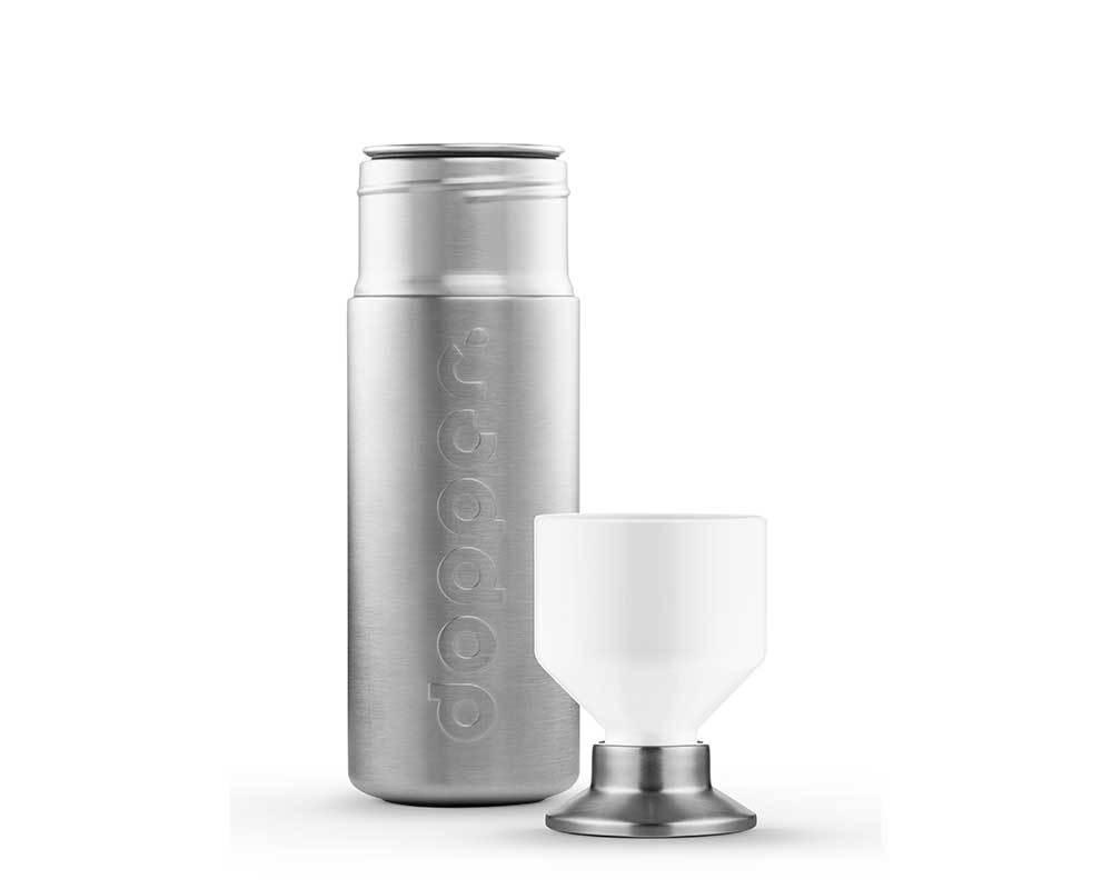 dopper steel 800ml trinkflasche aus edelstahl. Black Bedroom Furniture Sets. Home Design Ideas