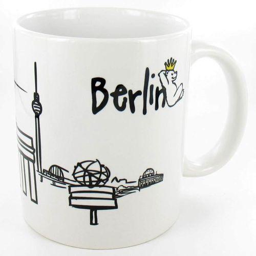 tassen teller gl ser ascher berlin deluxe geschenke souvenirs. Black Bedroom Furniture Sets. Home Design Ideas