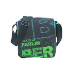 Shoulderbag Berlin Blue Green Robin Ruth