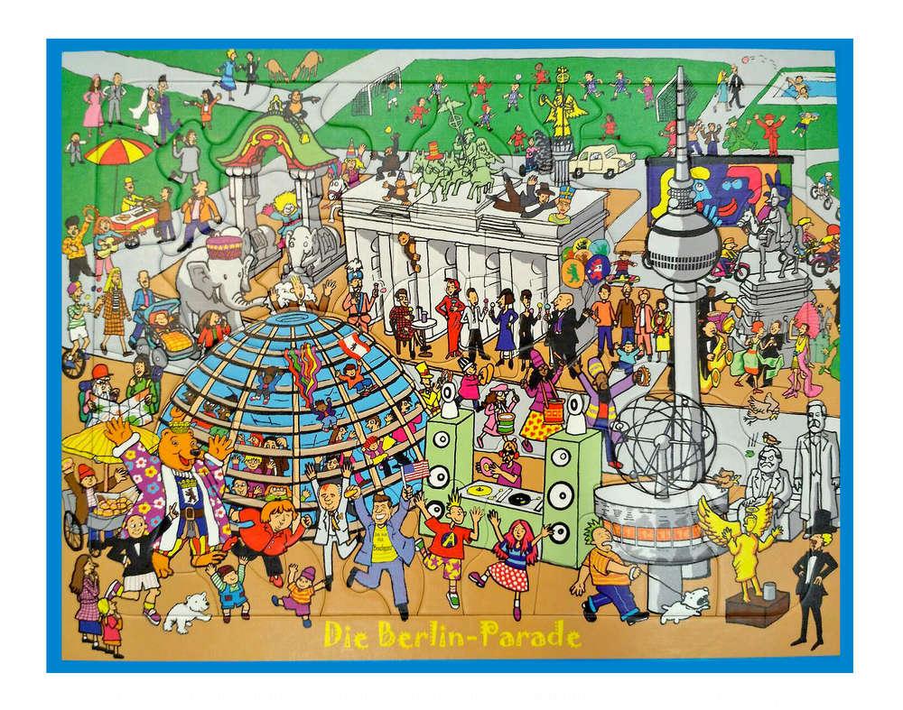 Puzzle Berlin Parade