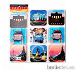 Coaster Set of 6 - Berlin Sights